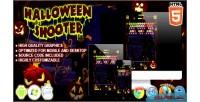 Shooter halloween html5 game