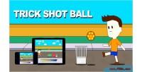 Shot trick game html5 ball