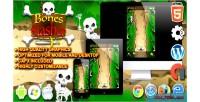 Slasher bones html5 game survival construct
