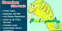 Slide chameleon game html5 puzzle