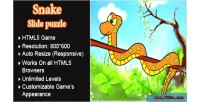 Slide snake puzzle