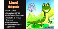Slidepuzzle lizard