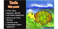 Slidepuzzle turtle
