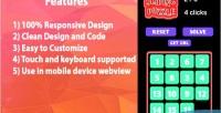 Sliding 15 game html5 puzzle