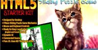 Sliding html5 puzzle kit starter game