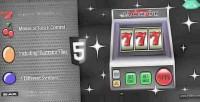 Slot html5 777 jackpot machine