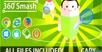 Smash 360 capx html promotion game