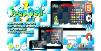 Soap ball craze html5 game physic construct
