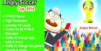 Soccer angry cup game html5 2014