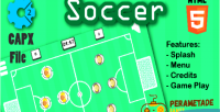 Soccer button html5 capx game 2 construct