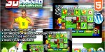 Soccer slot machine html5 game casino premium soccer