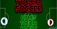 Soccer touch html5 game mobile