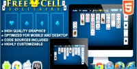 Solitaire freecell game solitaire html5