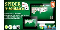 Solitaire spider game solitaire html5