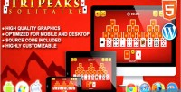Solitaire tripeaks game solitaire html5