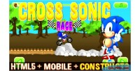 Sonic cross race html capx