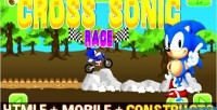 Sonic cross race html capx