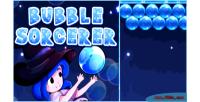 Sorcerer bubble shooter bubble html5