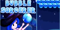 Sorcerer bubble shooter bubble html5