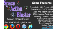 Space action bluster html5 game shooting endless
