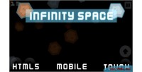 Space infinity game mobile html5
