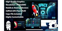 Space purge html5 game mobile vesion admob construct capx 2