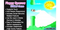 Sparrow flappy html5 game