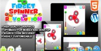 Spinner fidget revolution game skill html5