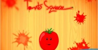 Squeeze tomato touch game