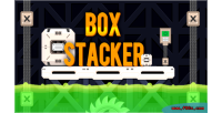 Stacker box game puzzle html5