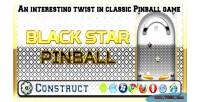 Star black pinball
