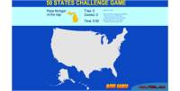 States 50 challenge game educational html5