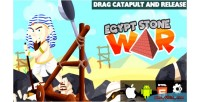 Stone egypt war html5 capx game