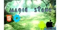 Stone magic match 3 html5 games