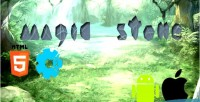 Stone magic match 3 html5 games