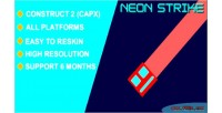 Strike neon html5 capx game