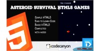 Survival asteroid html5 games