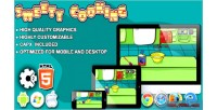 Sweety cooking chocolate cake game construct html5