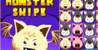Swipe monster html5 3 link halloween