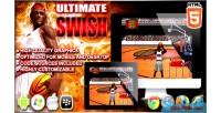 Swish ultimate game html5 sport