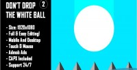 T don drop the white ball 2 game html5 mobile version construct capx 2