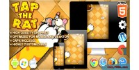Tap the rat html5 game tap construct