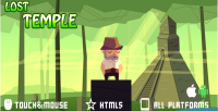 Temple lost html5 game