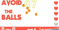 The avoid game html5 balls