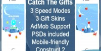 The catch gifts game mobile html5