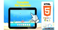 The complete sequence game educational html5