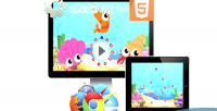The connect dots game html5 educational