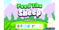 The feed sheep