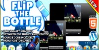 The flip bottle game skill html5