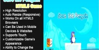 The save game html5 penguin